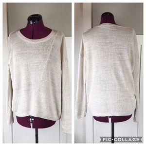Vince 100% linen sweater M